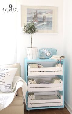 Time to up-cycle: DIY chest of drawers