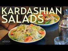 have you ever wondered What the heck are the Kardashian's eating on the show and what kind of delicious salads are they that they eat them co. Clean Eating, Healthy Eating, Kardashian Salads, Kim Kardashian, Chef Salad, Cooking Recipes, Healthy Recipes, Healthy Foods, Salad Recipes