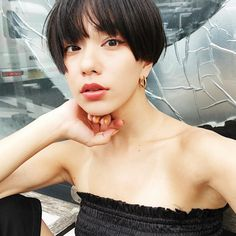 Short Hairstyles For Women, Hairstyles Haircuts, Japanese Hairstyle, Short Hair With Layers, Asian Hair, Girl Short Hair, Mi Long, Hair Designs, Hair Inspiration