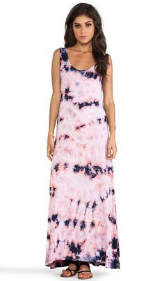 Chaser Deep Armhole Maxi Dress in Candy Tie Dye | REVOLVE