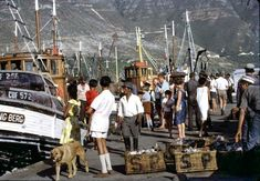 hOUTBAY, Everyday: 40 Wonderful Color Photographs Capture Street Scenes of Cape Town, South Africa from between the and Vintage Photographs, Cape Town, Old Photos, South Africa, Street View, History, Apartheid, Life, Africans