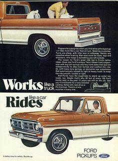 1972 Ford Ranger XLT F-100 Pickup Truck