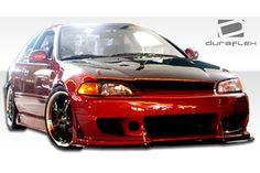 Duraflex® Honda Civic 1992-1995 B-2 Front Bumper