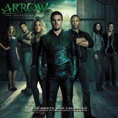 2016 Arrow Television Series Wall Calendar