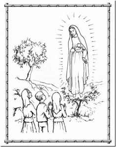 Our Lady Of Fatima Coloring Page - 12 Our Lady Of Fatima Coloring Page, Our Lady – Immaculate Heart Coloring Pages Whale Coloring Pages, Paw Patrol Coloring Pages, Heart Coloring Pages, Mermaid Coloring Pages, Truck Coloring Pages, Printable Adult Coloring Pages, Coloring Pages To Print, Coloring Pages For Kids, Coloring Books