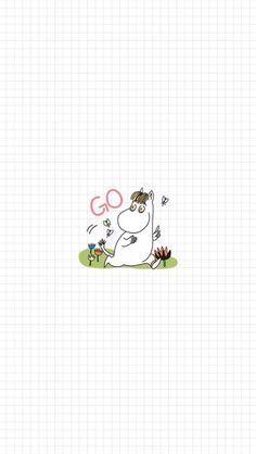 Moomin Wallpaper, Pattern Wallpaper, Iphone 6 Wallpaper, Wallpaper Backgrounds, Little My Moomin, Moomin Valley, Kakao Friends, Tove Jansson, Kawaii Cute