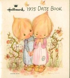 Vintage Hallmark Betsey Clark 1975 Date Book. I had one of these back then. I remember getting a different one every year.