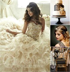 The Great Gatsby Themed Quinceanera | Quinceanera Ideas | Download our FREE quince app |
