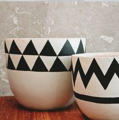 Pot plants geometric awesomeness