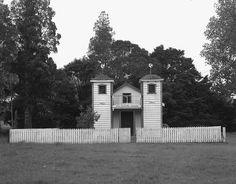 Mangamuka Ratana Church, Hokianga, New Zealand by matthew_comeskey, Field Camera, The Secret History, New Zealand, Cabin, Architecture, House Styles, Places, Outdoor Decor, Photography