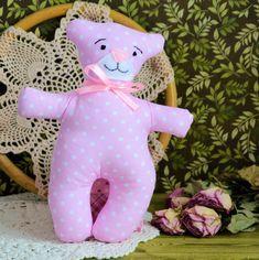 Kochany mały miś - Zuzia - 18 cm Sewing Toys, Baby Toys, Dinosaur Stuffed Animal, Babe, Animals, Top Toddler Toys, Animaux, Animales, Baby Play