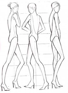 Fashion Sketches Body Template Fashion Sketches Body on How to Draw for Beginner