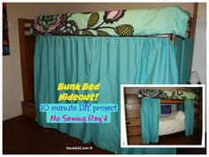 Best Diy Loft Bed Private Little Bunk Bed Fort Check Out 640 x 480