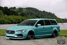 V70 morphed with S90? Nice work by Brinka. (Love the color).
