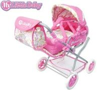 My Little Baby Deluxe Doll Pram - My Secret Garden