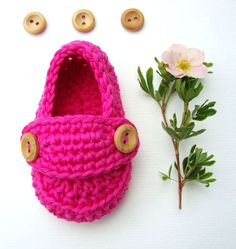 ready to ship    Cute crochet baby booties little loafers!  they are hand-crocheted with a 75% cotton and 25% lyocell seacell (antibacterial,