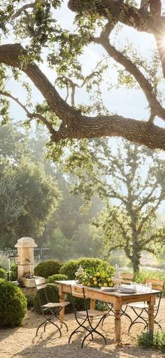 Outdoor Spaces, Outdoor Living, Outdoor Decor, La Provence France, Fresco, Under The Tuscan Sun, Italian Villa, Divine Light, French Farmhouse