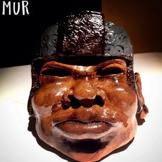 Olmec Head sculpture.