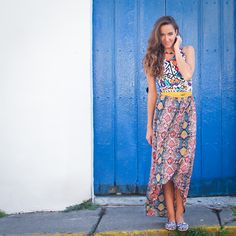 www.columpio.com.ve - #Look #Columpio #Vestido #Moda #Caracas #Venezuela #Noviembre