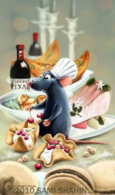 Le Petit Chef of Ratatouille