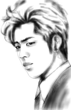 #Dongwoo sketch