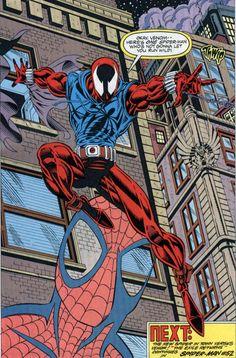 The Scarlet Spider in Web of Spider-Man #118 (1993) - Steven Butler