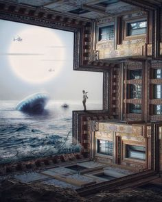 Signal. Surreal and Fantasy Photo Manipulations. By Plat Ykor.
