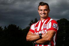Xherdan Shaqiri has joined Stoke City