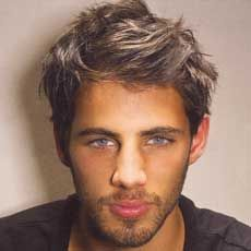 Men's messy bed hair style #hairstyle #haircut #grooming