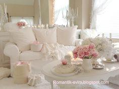 My Shabby Chic Home ~ Romantik Evim
