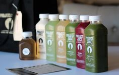 Project Juice builds community throughout the Bay Area of individuals, families, and businesses, united by a passion to live a healthy lifestyle through the consumption of organic, cold-pressed juice. Explore their approach on this board.