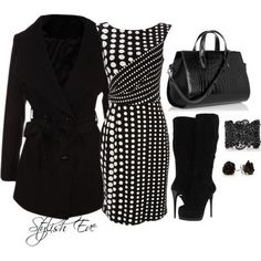 BLACK AND WHITE FASHION 2013 | Black-and-White-Winter-2013-Outfits-for-Women-by-Stylish-Eve_01