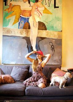 """Conheça a arte de Jemima Kirke e seu universo feminino muito além da série """"Girls"""" - Follow the Colours"""
