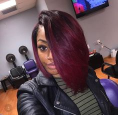 Awesome Weave Hairstyles with Color Stock Dope Hairstyles, Weave Hairstyles, Pretty Hairstyles, Love Hair, Gorgeous Hair, Curly Hair Styles, Natural Hair Styles, Pelo Afro, Birthday Hair