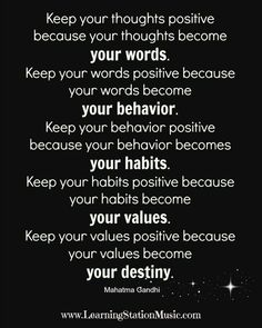 power of positive thinking quotes - Google Search