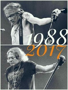 Axl still rocking 2018 30 years. He did it his way.. Fucking A m/!!
