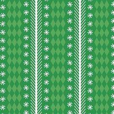 Riley Blake Designs - Nutcracker Christmas - Nutcracker Stripe in Green