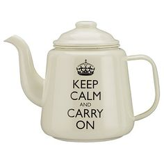 Keep calm and carry on-so true, and easier to do with a cup of tea, or two or three...