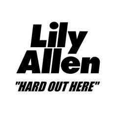 """Estou ouvindo """"Hard Out Here"""" de Lily Allen na #OiFM! Aperte o play e escute você também: http://oifm.oi.com.br/site"""
