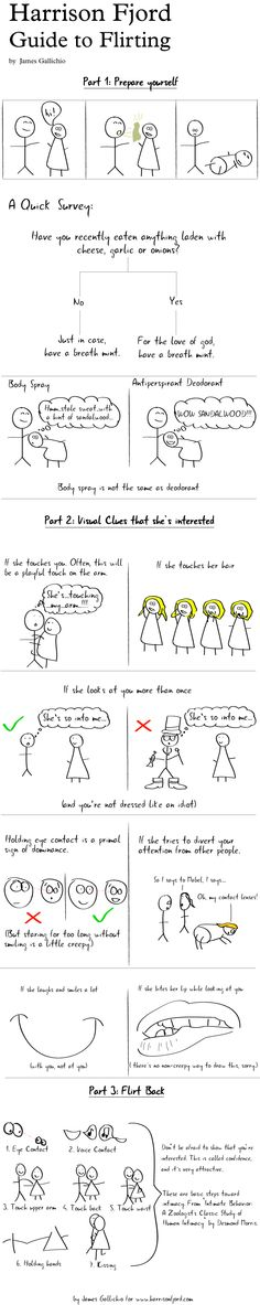 Guide to Flirting-This is adorable.