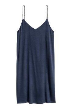 Vestido curto em jersey   H&M