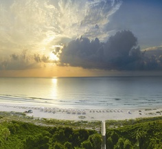 Sunrise View from the Omni Amelia Island Plantation Resort