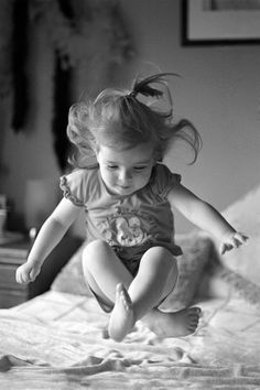 ~Jumping on Grandmas Feather Bed!~