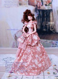 Anastasia Kovtonyuk: boutique Tekstileri: Compilation extraordinarily beautiful Korean puppet - tryapiens