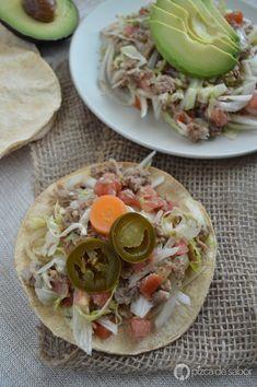 Salpicón de res o ensalada fácil de carne y vegetales www.pizcadesabor.com