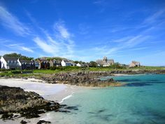 Stop the world and get off. Iona, Scotland. Small island off the coast of Oban. Quiet, peaceful, stunning white sand beaches and sheep!
