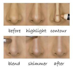 Non surgical nose contour