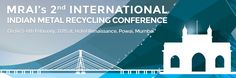 We are glad to inform you that ADVANCE HYDRAU-TECH PVT. LTD. is participating in 2015 MRAI'S 2nd International Indian Metal Recycling Conference, On (4) 5-6th February, 2015 at, Hotel Renaissance, Powai, Mumbai  Click here for further details http://www.mrai.org.in/imrc2015/  The main objectives of the event organised by MRAI is to promotes public awareness of the value and importance of recycling along with the positive environmental benefits derived from metals recycling.   About Advance…