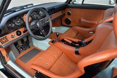 Singer Racing Blue Porsche 911 (964) With Cosworth 3.8 Liter Engine2