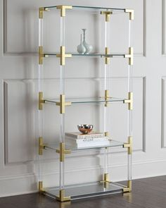 Jacques Etagere by Jonathan Adler at Horchow.